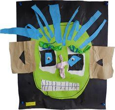 Tête de monstres en arts plastiques Activities For Kids, Crafts For Kids, Arts And Crafts, Art History Memes, Grande Section, Shrek, Art Plastique, Art School, American History