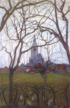 PIET MONDRIAN. Village Church , 1898