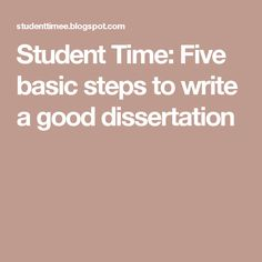 how to write a good dissertation title