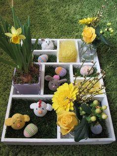 Letterbak voorjaar/Pasen Ook een hele leuke!!