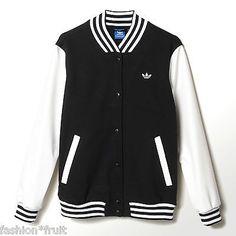 Urban classics krage faux skinn College jakke svart