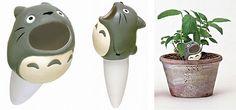Totoro plant feeder!