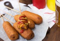 20 perces sajtos corn dog
