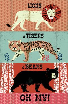 lions & tigers & bears oh my
