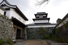 Part of Fukuoka Castle (December 2012).