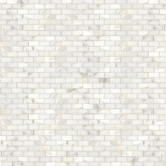 Staggered Calacatta Mosaic - traditional - kitchen tile - Waterworks-WOULD BE PRETTY AS A BACKSPLASH IN THE KITCHEN