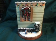 Outside view of my 1/2 and 1/2 Christmas scene. 10/24/2014