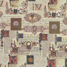 Illuminated Manuscript Wrapping Paper