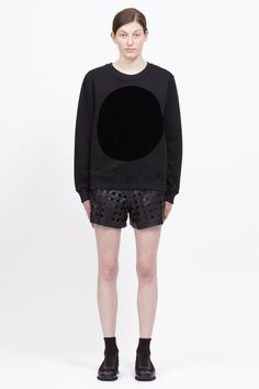 Featuring Velvet Circle Sweatshirt