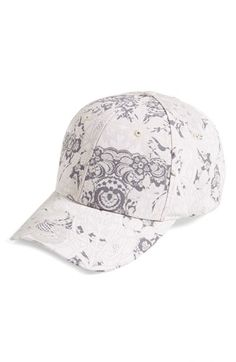 San Diego Hat Lace Print Baseball Cap available at #Nordstrom