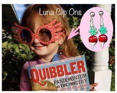 LUNA Clip-on Earrings Dirigible Plum Costume Jewelry   Etsy