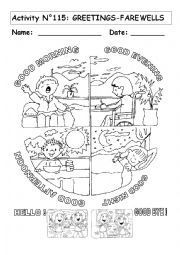 English teaching worksheets greetings ms practicas pinterest english worksheet greetings and farewells m4hsunfo