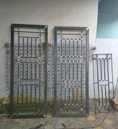 Home Gate Design, Gate Wall Design, Steel Gate Design, Front Gate Design, Window Grill Design Modern, Grill Door Design, Garage Door Design, Gate Designs Modern, Balcony Railing Design