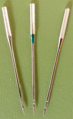 Needle sizes for quilting on machine This lady's blog is amazing!