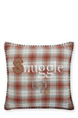 Snuggle Up Check Cotton Cushion