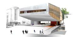 Cultural Center in Castelo Branco