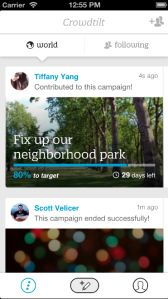 Crowdtilt Goes Mobile With First App, Will Soon Let Anyone Launch A Crowdfunding Campaign On TheGo