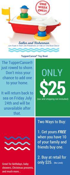 Erin's Eatery: Tupperware Canoe