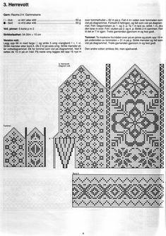 Neuen : Doe in filet crochet . Knitted Mittens Pattern, Knit Mittens, Knitting Socks, Filet Crochet, Knitting Charts, Knitting Stitches, Knitting Patterns, Stitch Patterns, Knitting Designs