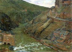 El Tajo por Aureliano Beruete