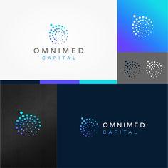 Logo creation for healthcare related investment firm. Initials Logo, Monogram Logo, Best Logo Design, Custom Logo Design, Dental Logo, Logo Face, Typography Logo, Logos, Logo Creation