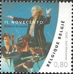 belgian stamps This is Belgium - Music  Il Novecento