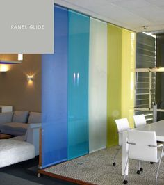 Panel Glide Blinds By SP
