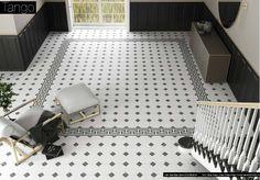 Tango by Aparici Victorian Hallway Tiles, Tiled Hallway, Tango, Tile Stores, Encaustic Tile, House Tiles, Decoration, Tile Floor, Architecture Design