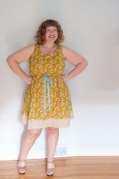 >The goldilocks dress (Serendipity Studios #110 Claire Cami dress) | sewtropolis