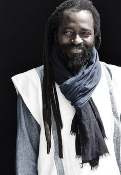 Few modern craftsmen have unlocked indigo's potential better than Aboubakar Fofana, who has studied traditional indigo production techniques for over three decades and on three continents: at home in Mali, inside ethnology museums in Paris, and alongside Masakazu Akiyama, a Japanese master dyer. [Photo: Gentl + Hyers]