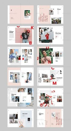 Find tips and tricks, amazing ideas for Portfolio layout. Discover and try out new things about Portfolio layout site Portfolio Design Layouts, Fashion Portfolio Layout, Graphic Design Layouts, Logo Design, Booklet Design Layout, Layout Book, Page Layout Design, Design Design, Photo Book Design