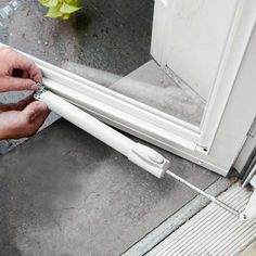 How to Install an Aluminum Storm Door - This Old House