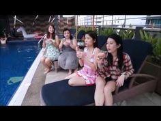 KL Youtuber POOL PARTY & WATERPROOF MAKEUP