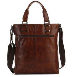 vintage messenger bag leather men