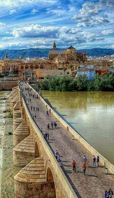 Puente romano. Córdoba. Spain