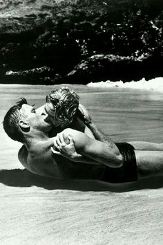 """""""My love for you will outlast this beach, this ocean, this planet. When judgement comes and Heaven finally falls, I will take you back with me.""""  ― Scarlet Blackwell, I Am Fallen  *Bert Langcaster & Deborah Kerr - From Here To Eternity 1953"""