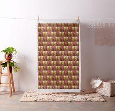 Festive Fabric by JUSTART on Zazzle  #justart #zazzle #fabric #home #decor #orange #red #yellow #pattern #abstract