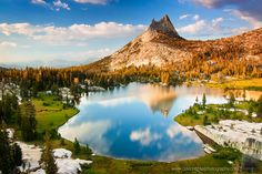 The Death Hike, Cathedral Peak, Yosemite -- Granite Reflections David Richter