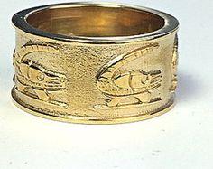 Shikari Ring,  African fabric print design, unisex, wide band ring, MADE-TO- ORDER