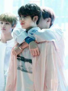 J-Hope and Jungkook  awww