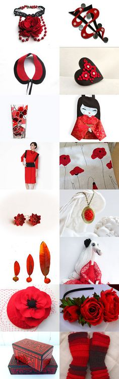 red by Matylda on Etsy--Pinned with TreasuryPin.com