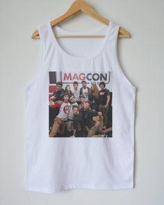 Magcon music brand Tank  Men's singlet Tank Top shirt  by dazztees, $14.99