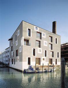 BLOQUE RESIDENCIAL EN GIUDECCA (Venecia) – Cino Zucchi « efece arquitectura