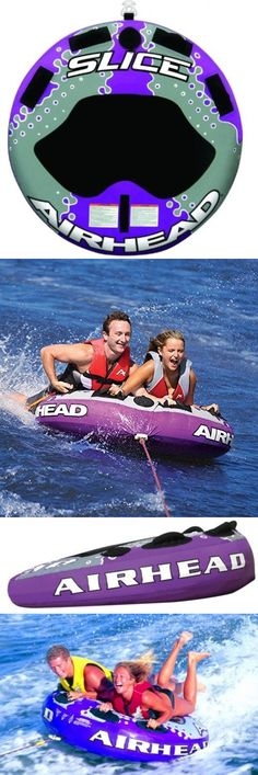 Tubing and Towables 71169: 2 Person Towable Tube River Water Ride Fun 4 Handles Durable Heavy Duty Bladder BUY IT NOW ONLY: $148.87
