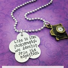 Life is like photography... by JustAnotherPastime on Etsy