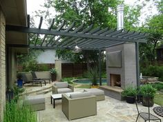 Ellen Grass & Sons - modern - patio - dallas - by Ellen Grasso & Sons, LLC
