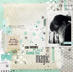 ILS - scrapbooking: The paper of the month