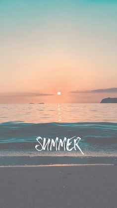 Summer Vibes iPhone Wallpaper for Teens
