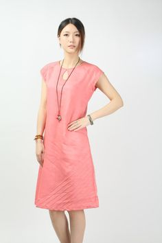 Maxi Dress Unique Loose fitting Long Vest by FashionColours, $78.00