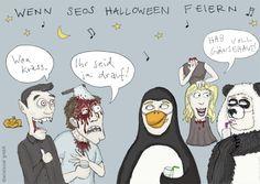 Wenn SEOs Halloween feiern - Cartoon des Monats 01